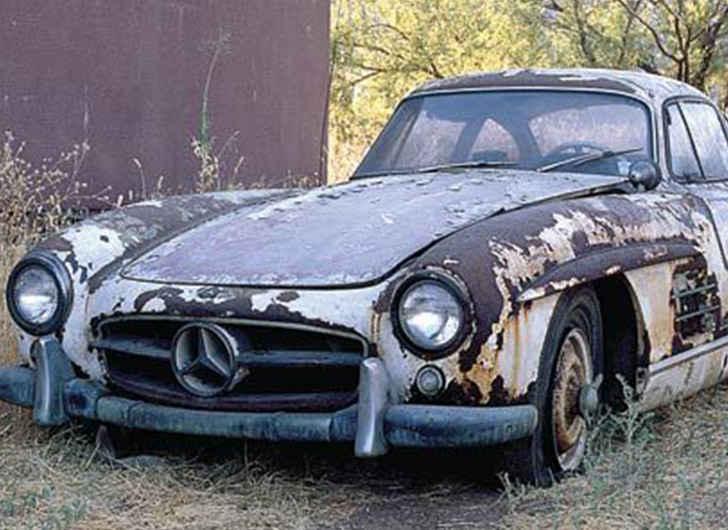 1956 Mercedes 300SL Gullwing