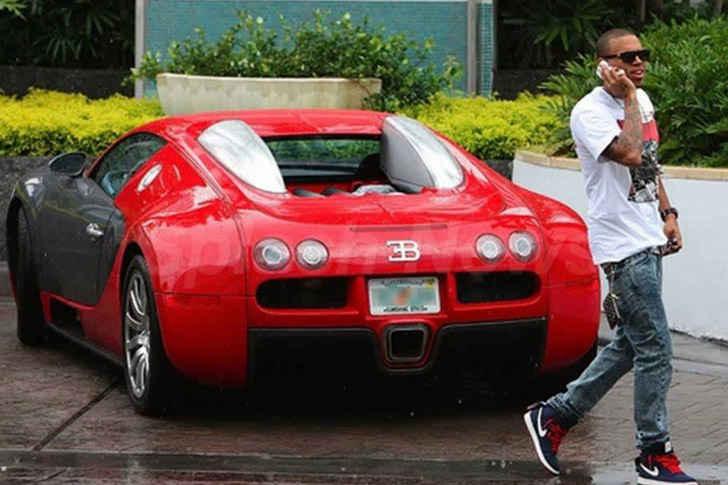 4-Chris Brown Bugatti