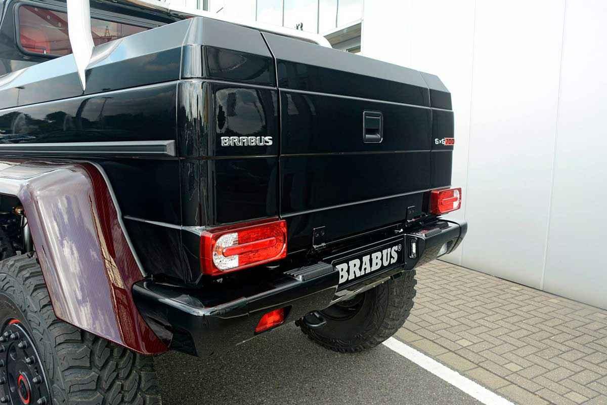 BRABUS 6x6 Red Carbon Fiber (1)