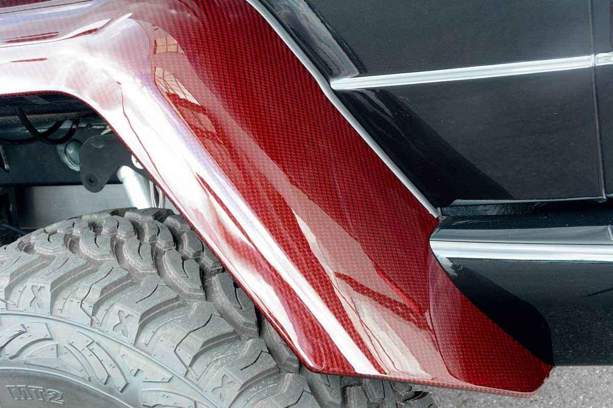 BRABUS 6x6 Red Carbon Fiber (12)