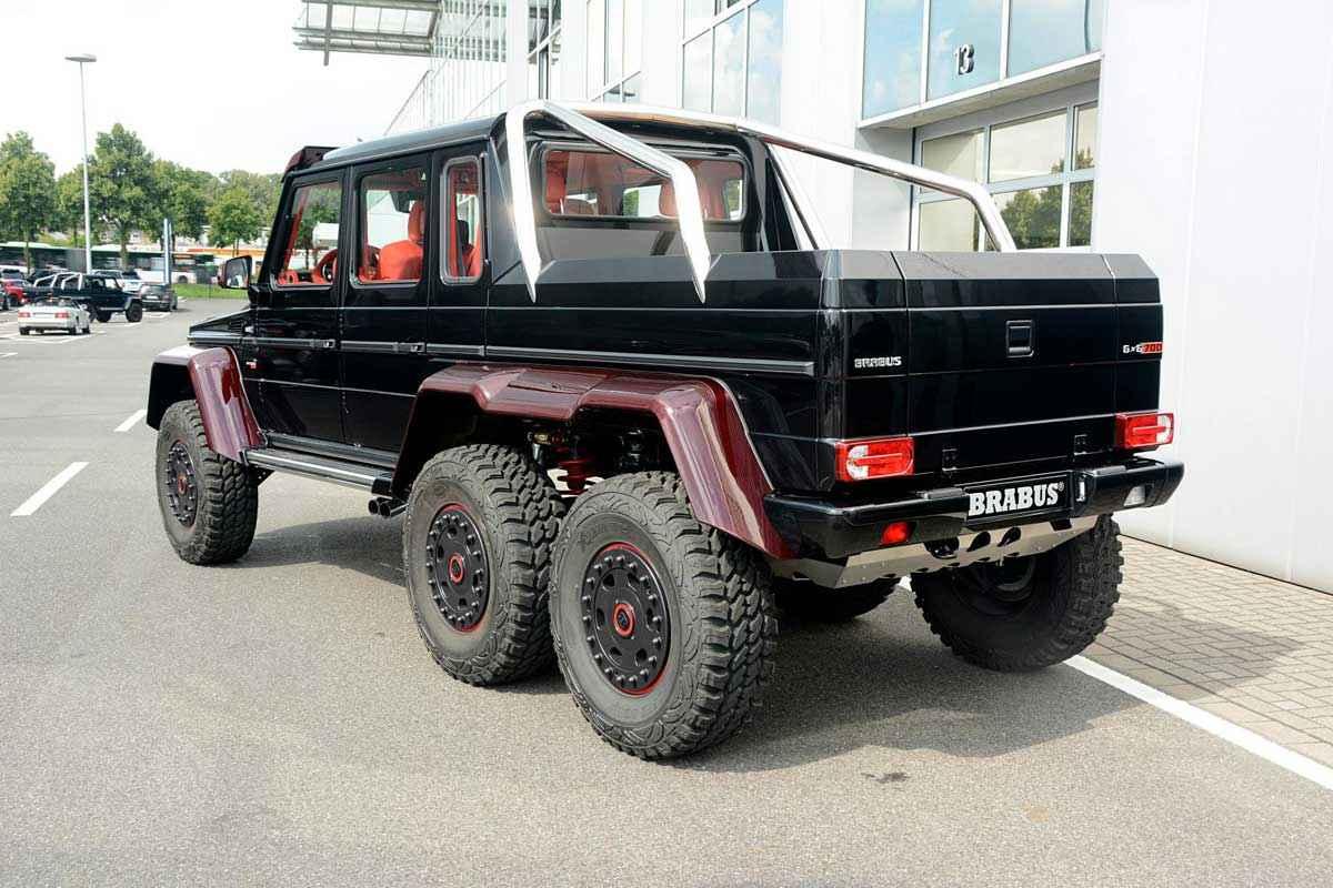 BRABUS 6x6 Red Carbon Fiber (13)