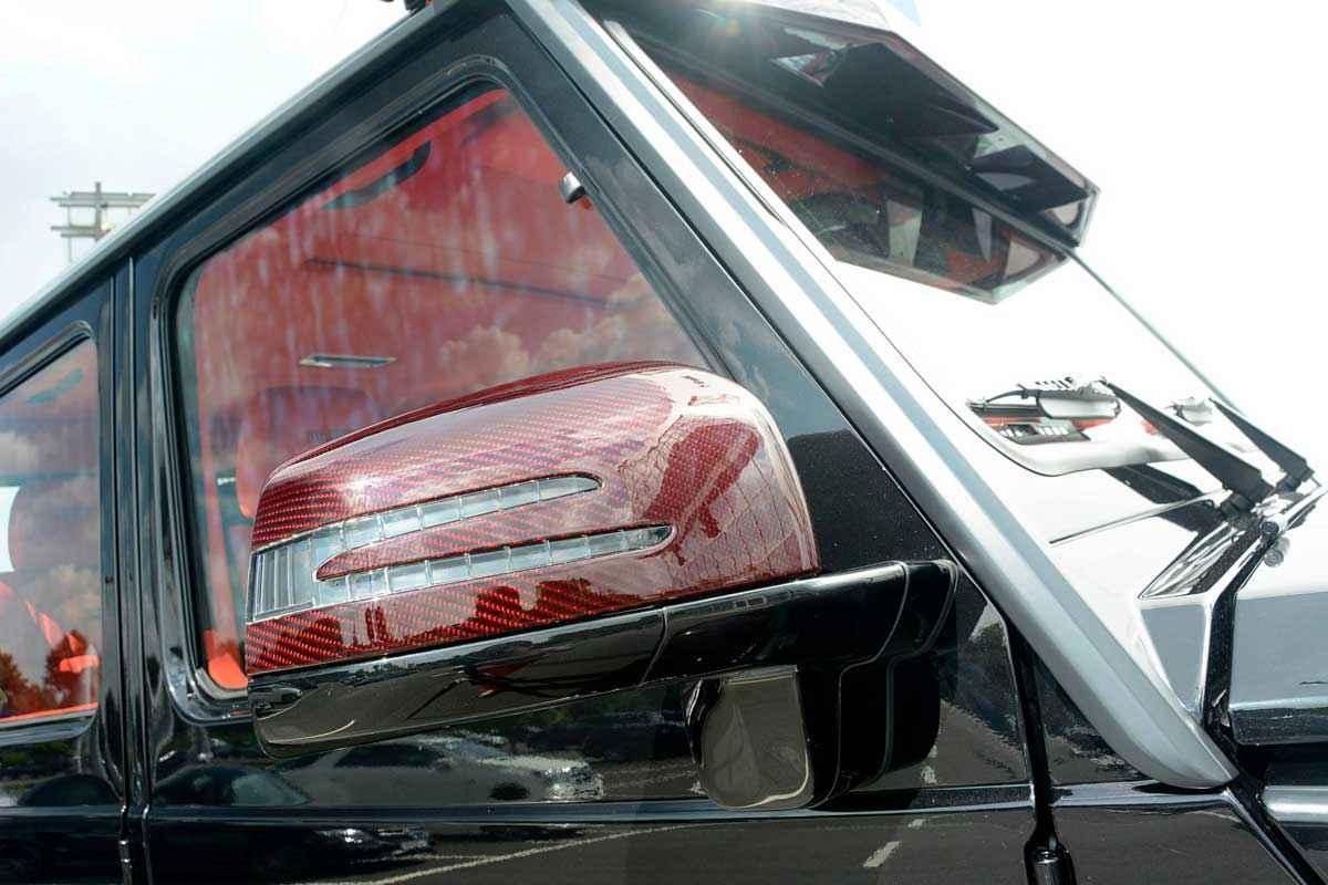 BRABUS 6x6 Red Carbon Fiber (15)