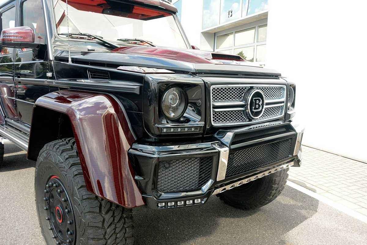 BRABUS 6x6 Red Carbon Fiber (16)