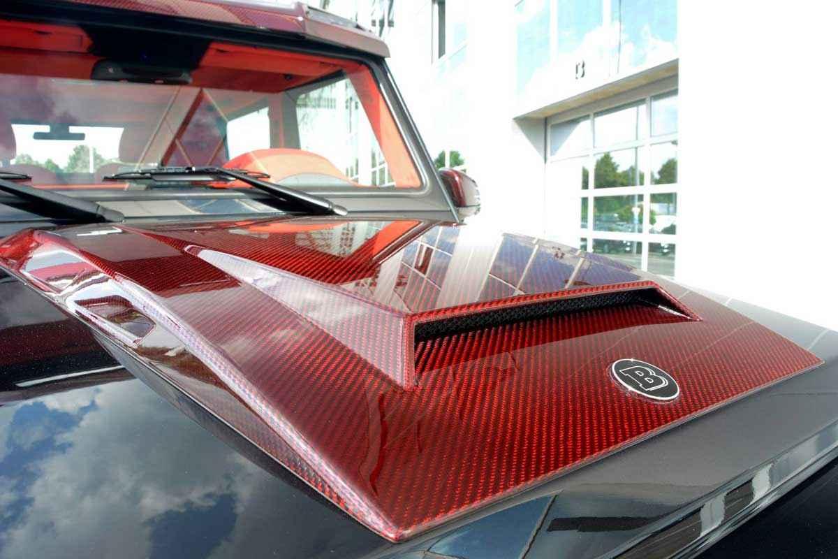 BRABUS 6x6 Red Carbon Fiber (7)