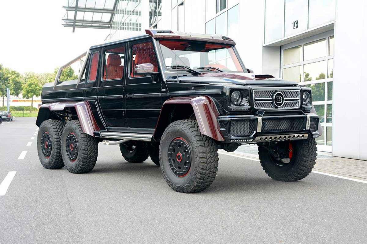 BRABUS 6x6 Red Carbon Fiber (8)
