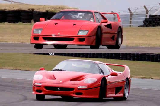Ferrari F40 Vs Ferrari F50 Auto Overload