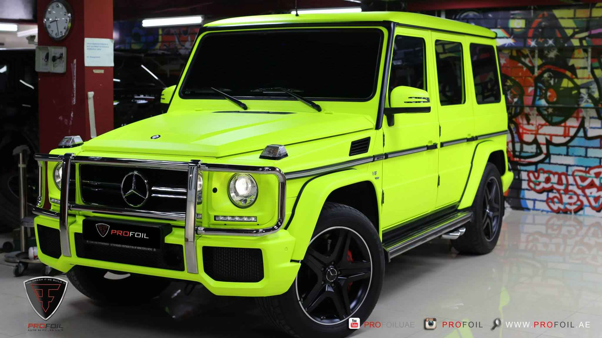 g63-amg-gets-neon-yellow-wrap-from-profoil-video_6