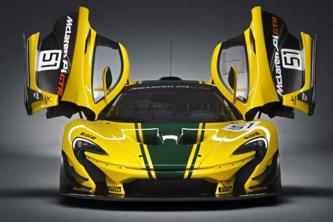 McLaren-P1-GTR-front-end-with-doors-open