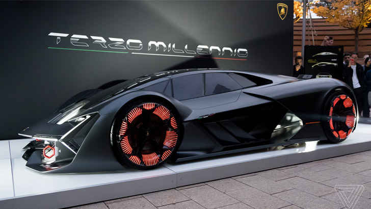 This Lambo Is A Concept Collaboration With Mit Auto Overload
